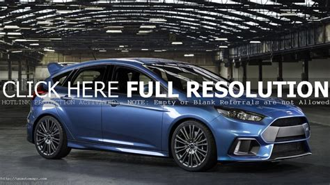 Ford Focus Redesign by Ford Focus Rs 2019 Redesign And Changes 2019 Auto Suv
