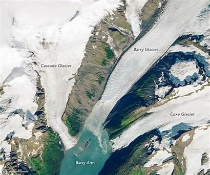 Glacier Barry Arm Tsunami Alaska Landslide Mega
