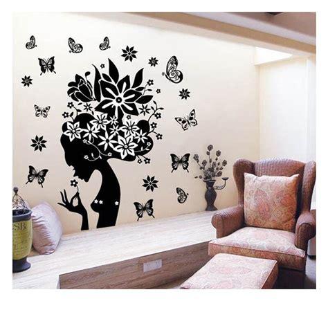 flower elf vinyl wall sticker removable decal home decor