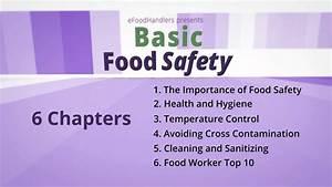 Basic Food Safety  Introduction  English