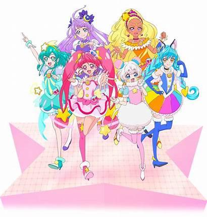 Precure Twinkle Star Cure Fuwa Render Milky