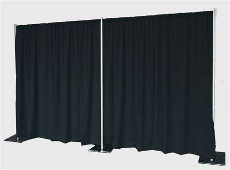 Backdrop Pipe And Drape - backdrop kit 8 ft x 20 ft wide pipe and drape
