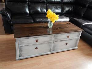 Ana white pottery barn harper style coffee table diy for Barn style coffee table