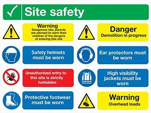 Multi Message Signs - Safety Signs & Labels - Safety