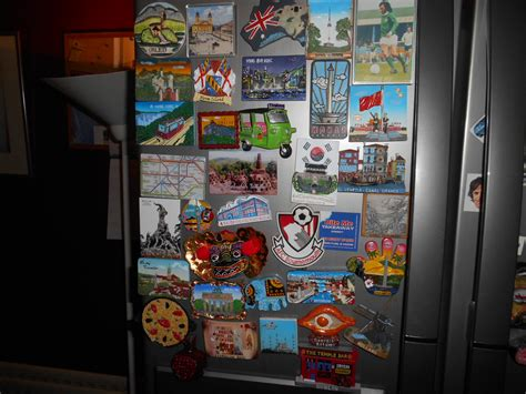 Fridge Magnets From Around The World