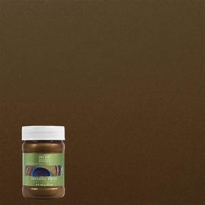 modern masters 6 oz statuary bronze metallic interior With home depot metallic furniture paint