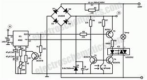 Light Sensor Switch Circuit