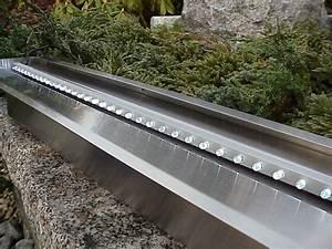 Steinmauer Mit Wasserfall : wasserfall edelstahl 3er set 30cm 60cm 30cm edelstahl wasserfall edelstahl wasserspiele ~ Sanjose-hotels-ca.com Haus und Dekorationen