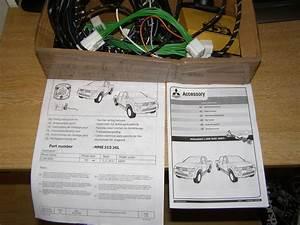 Mitsubishi L200 Tow Bar Electrics Genuine Delaer Part