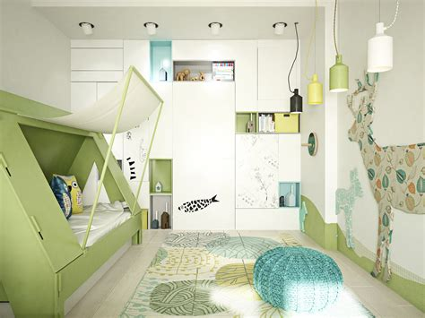 18+ Kids Bedroom Lighting Designs, Ideas  Design Trends
