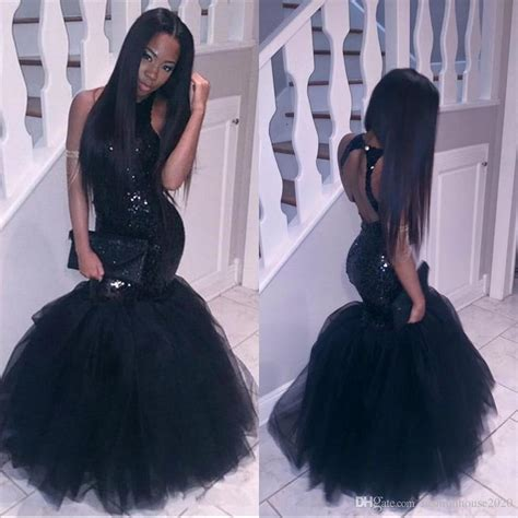 dresses 2018 new year cheongsam style thick warm new 2018 black girl mermaid prom dresses evening wear