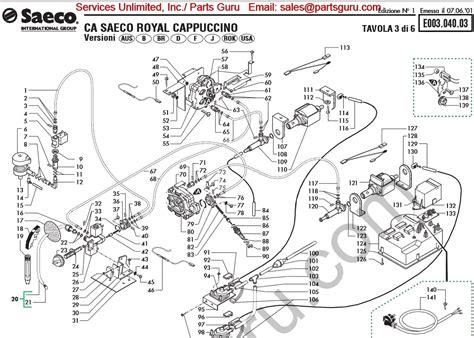 saeco royal cappuccino wiring diagram wiring diagram