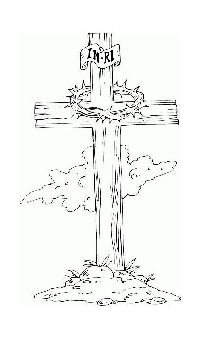Cross Coloring Wooden Pages Drawing Wood Tattoo