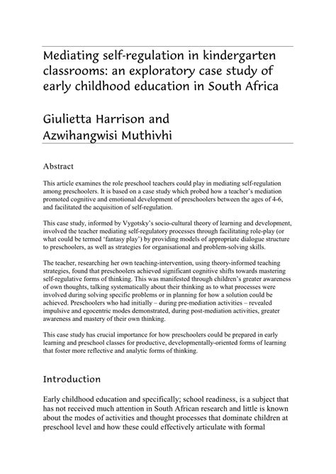marvelous early childhood education research paper examples museumlegs
