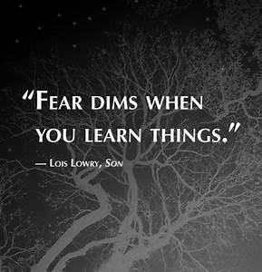 8 Illuminating Quotes By Author Lois Lowry Books