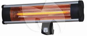Sunred Wand 1800 Watt Carbon Fibre Terrasverwarmer