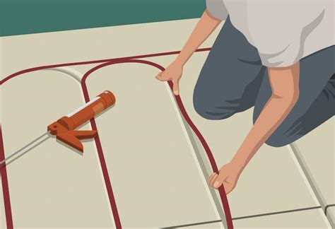 hydronic radiant floor heating tile how to install radiant heat in floors at the home depot