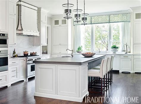 Traditional White Kitchen Painted With Sherwin Williams