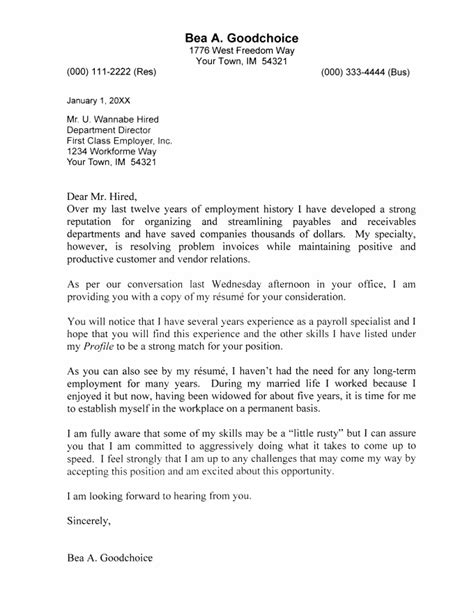 sle cover letter for accountant free resume templates