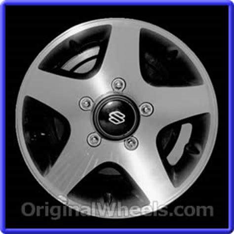 Suzuki Sidekick Rims by 1997 Suzuki Sidekick Rims 1997 Suzuki Sidekick Wheels At