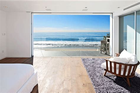 contemporary beach house  malibu california fresh palace