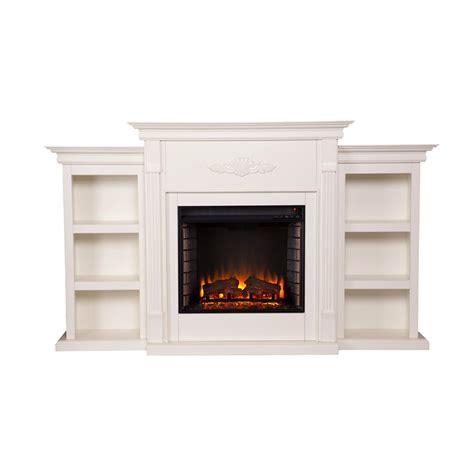White Electric Fireplace With Bookcase by Best Freestanding White Electric Fireplace Review In 2017