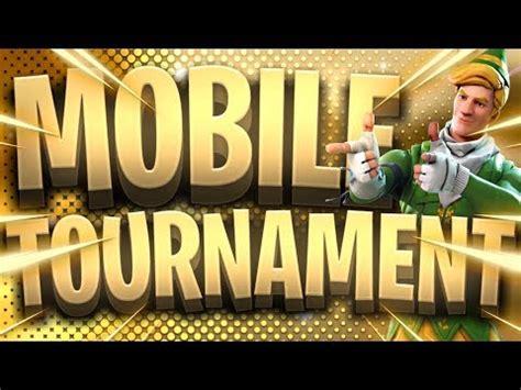 fortnite mobile custom scrims tournament  neochasers