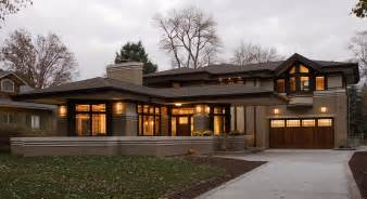 Simple Frank Lloyd Wright Prairie Style House Plans Placement by Residential Gallery Prairiearchitect