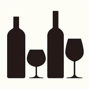 Clipart Wine Bottle And Glass – 101 Clip Art