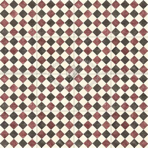 Checkerboard cement floor tile texture seamless 13432