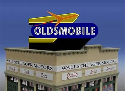 Ho Miller Billboard Rocket Engineering Scale Oldsmobile