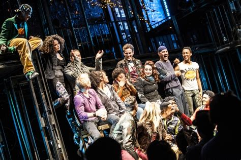 photo coverage inside closing of rent at new world stages