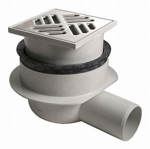 Bonde Receveur A Carreler : siphon horizontal pour receveur carreler brico d p t ~ Premium-room.com Idées de Décoration