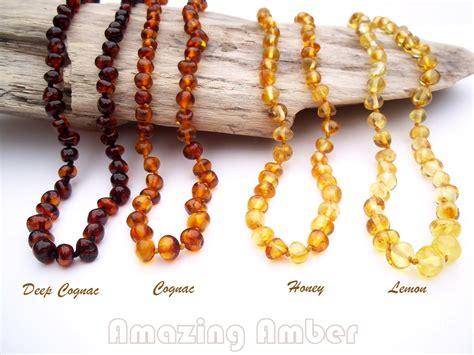 Genuine Baltic Amber Teething Necklace By Amazingamberlove