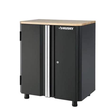home depot husky cabinet husky 32 8 in h x 28 in w x 18 3 in d steel 2 door base
