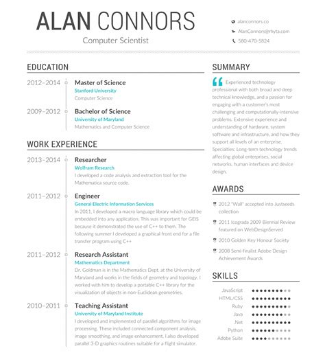 opensource resume generator profession is ui ux design