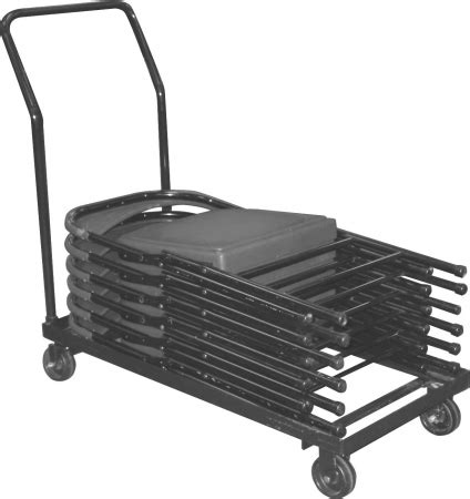 Folding Chair Carts Lifetime by Horizontal Folding Chair Dolly Cart At Handtrucks2go