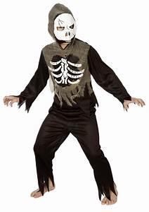 Halloween Skelett Kostüm : kinder kost m skelett jungen mit zombie maske halloween ~ Lizthompson.info Haus und Dekorationen