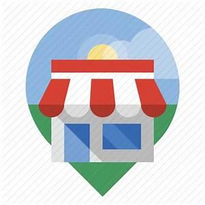 Locator, retail, shop, store icon | Icon search engine