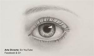 Cómo dibujar un ojo realista a lápiz- Arte Divierte. - YouTube