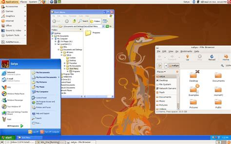 WindowsOnLinux | Windows XP running in VirtualBox on top ...