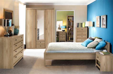 les chambre coucher lit indigo chambre a coucher chene clair