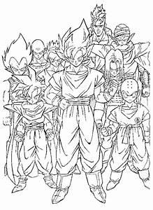 LAMINAS PARA COLOREAR COLORING PAGES: Dragon Ball GT para dibujar pintar colorear imprimir