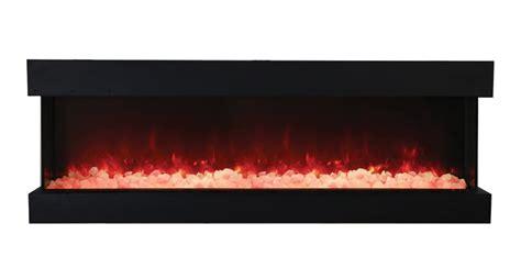 tru view xl  sided electric fireplace amantii