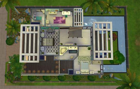 sims  family house floor plan