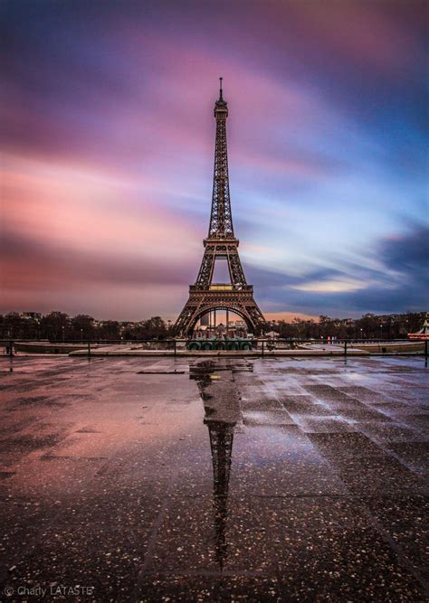 Eiffel Sunset By Charly Lataste On 500px ~ Eiffel Tower