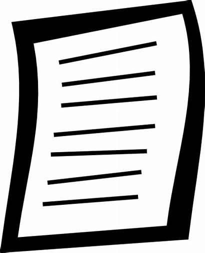 Essay Clipart Paper Svg 20clipart College Someone