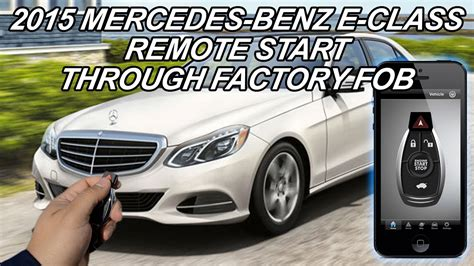 This feature comes remote start can be a very helpful feature to have, especially here in arizona. 2015 Mercedes-Benz E550 Remote Start - YouTube