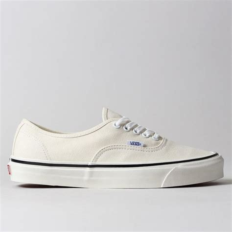 Vans Classic White vans authentic 44 dx in white anaheim factory classic