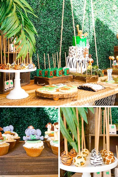 Wild Jungle Safari Birthday Party Theme Tinselbox